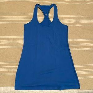 ⚡️CLEARANCE Lululemon cool racerback bright blue